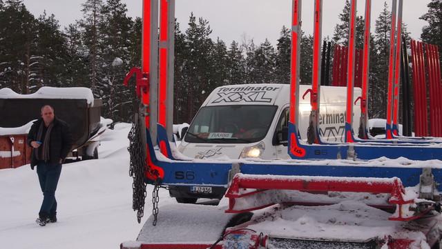 XX Express palvelee 24 h / 7 vrk. Kuva Rovaniemeltä.