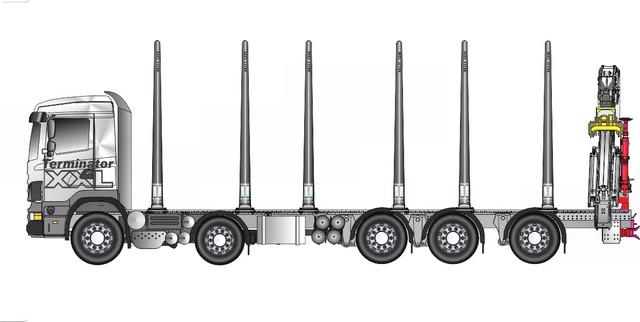42 tonnia ja kuormatilaa 10.2 + ylitykset.