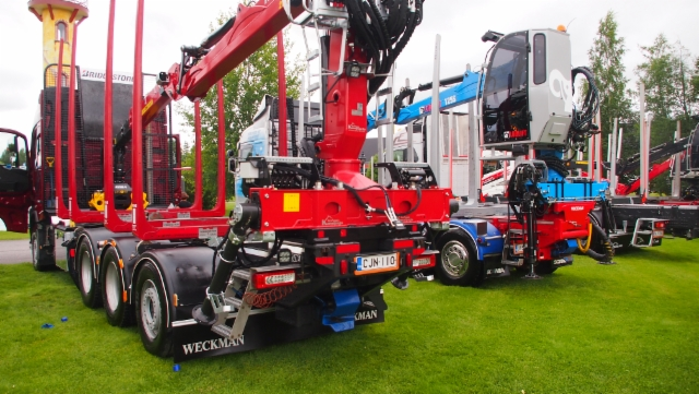 Power Truck Show Härmä 2015