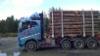 35 tonninen puutavara-auto Terminator XXL kuormatilalla.