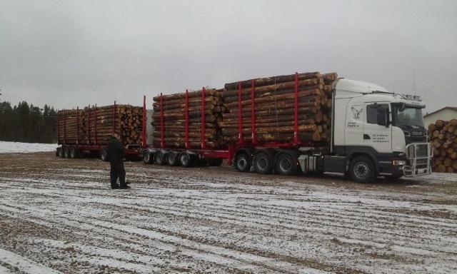 Ketosen 104 tonninen,Ensiesittely Rovaniemellä.