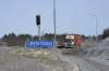 Jättirekka 104 tonnia. Euroopan suurin puutavarayhdistelmä Metsähallituksen ajossa.2