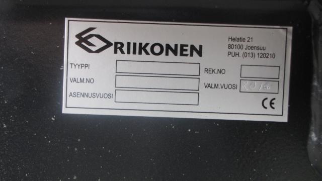 Konekorjaamo Riikonen Joensuu. Teräsvarustelut,MST perävaunut. Riiko kuormankiristimet puutavarapankot,Terminator.