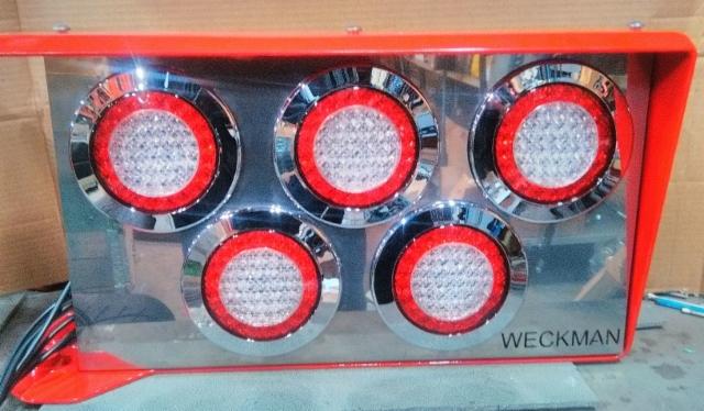 Lamppujen ja johtosarjojen laatuun on Weckmanilla panostettu kunnolla.