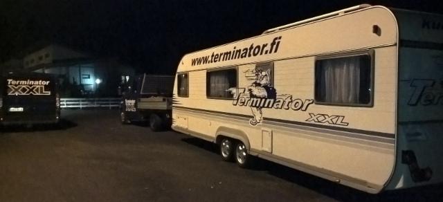 Ensiviikosta alkaen vaunua vetävässä lavasprintterissä on mukana Terminator XXL pankot ja mittavertailupankkosarja.