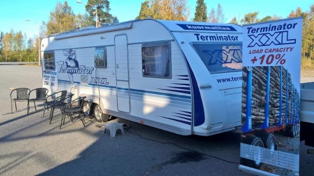 Karavaani jatkaa ensiviikolla Pietarsaareen, Poriin ja Raumalle.