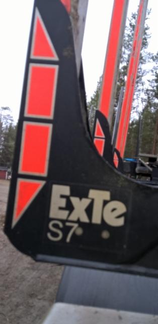 Terminator XXL vaihtopankot : 4 kpl  EXTE S7autosarja 3.15x255