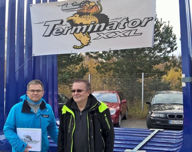 Jari Koivisto ja Heikki Jokela ovat Terminatormyyjiä.