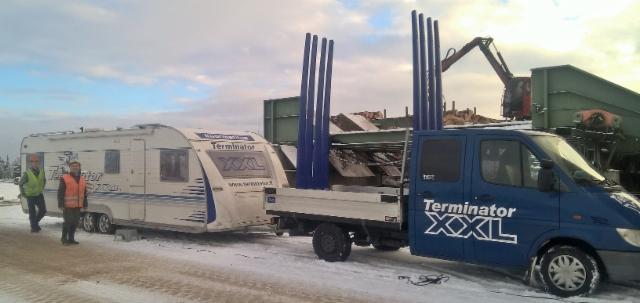 Terminatorimiesten Syyskierros Kuusamossa. Pölkky Oy