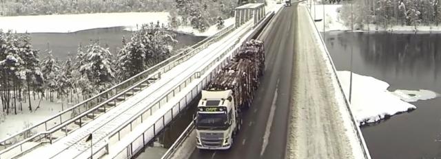 HCT yhdistelmän maantieliikenteen turvallisuusnäkökohdat on harkittu tarkasti.