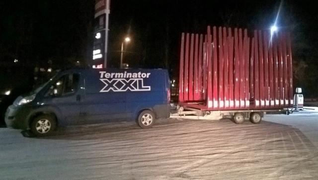Terminatorimiehet ja XX Express palvelee ammattikuntaansa 24h/7vrk myös koko vuodenvaihteen. - Hyvää JOULUA.