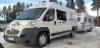 Veturiksi vaihtui nyt kuusipaikkaisella neuvottelutilalla varustettu tehokas vetoauto, jossa on 3m pituinen takaosan tavaratila.