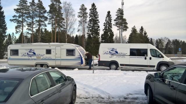 KUORMATILAA 2017 kiertueyhdistelmät vierailevat Suomessa kymmenillä paikkakunnilla - seuraa tiedotteitamme.