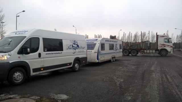 Kuormatilaa 3017 - Metsä Group Vilppula