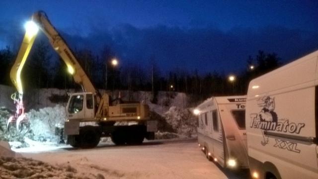 Kuormatilaa-2017 salonkivaunu kiertää pohjoista. Vuorossa Kemijärvi,Sodankylä ja Rovaniemi. Seuraavaksi Kittilä ja Enontekiö.