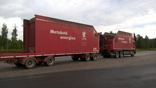 KUORMATILAA - 2017 ja UPM / MetsöFibre Rauma.