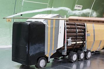 Puutavarayhdistelmien aerodynaamisia ominaisuuksia on alettu tutkia myös ruotsissa viime vuosina. - Me olenne tehneet puutavarayhdistelmien tuotekehitystä ja tutkimuksia aerodynamiikankin osalta jo vuodesta 1984 alkaen.