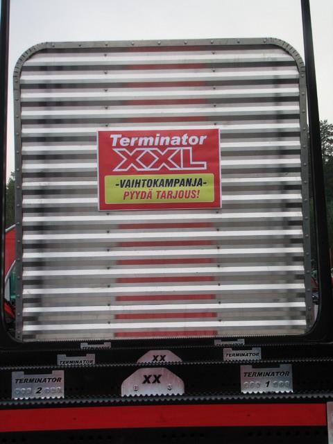 TimberMaxx rosteriseinä kestää kopistelunkin.