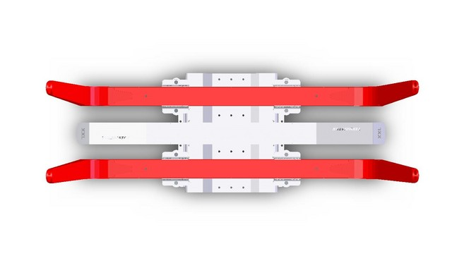 """""""Tukkipankkotällisarja"""" punaisella kolmikerrospinnoitteella."""