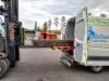 Purkupankot ovat yksi monista XXL lisävarusteista, joilla tehostetaan raakapuun ajojen ja purkujen toimintoja.