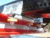 Pulttijako pidennettiin 50 millillä. Jako on nyr 240 mm ja se tekee Terminatoreitten pankkokiinnityksen lujaksi ja tukevaksi.