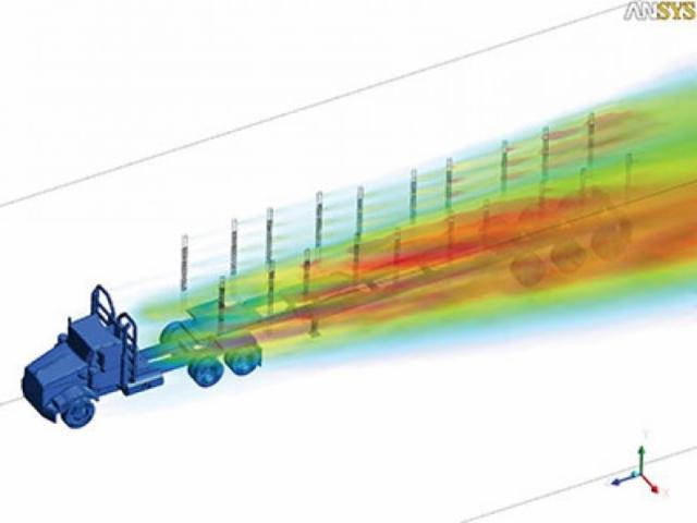 """Puutavarayhdistelmä on kokonaisuutenakin """"kaksineuvoinen"""" - eri ilmanvastusarvot tyhjänä ja kuormattuna."""