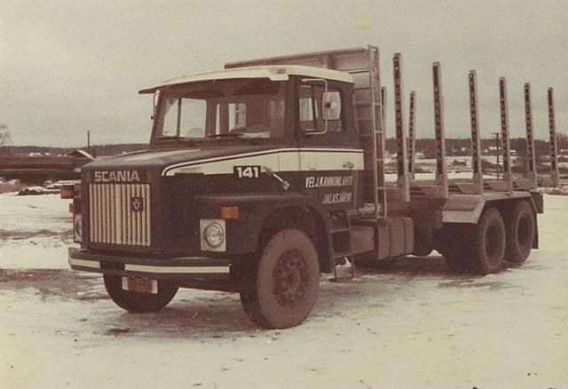 Alukarikka 1976 malli ensimmäinen alumiinipankkomallimme.