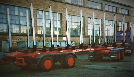 Perävaunukehityksen tulevaisuuden versio vuodelta 1991.