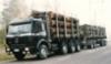 Syöttöautohistoriaa.- 60 tonninen nelikko kuormaimella.