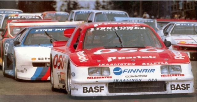 90- luku toi väriä myös autourheilusaralta + miljoonatappiot Vrtelin Kemoralta.