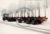 Maailman ensimmäinen aerodynaamisesti muotoiltu puutavarayhdistelmä rakennettiin Weckmanilla 1986