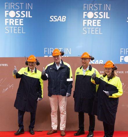 SSAB fossiilivapaat teräkset.