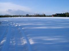 Mansikkamaa talvella
