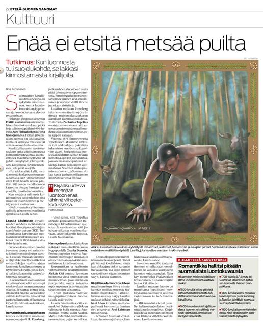 Etelä-Suomen Sanomat 29.4.2012