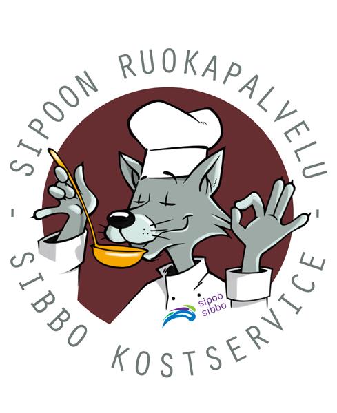 Sipoon ruokapalvelun logo