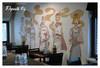 Ravintola Dansanin seinämaalaus