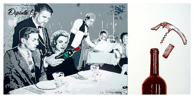 Ravintola Perhon seinämaalaukset 6