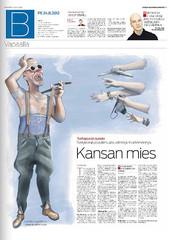 Etelä-Suomen Sanomat 24.8.2012