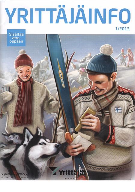 YrittäjäInfo 01/2013