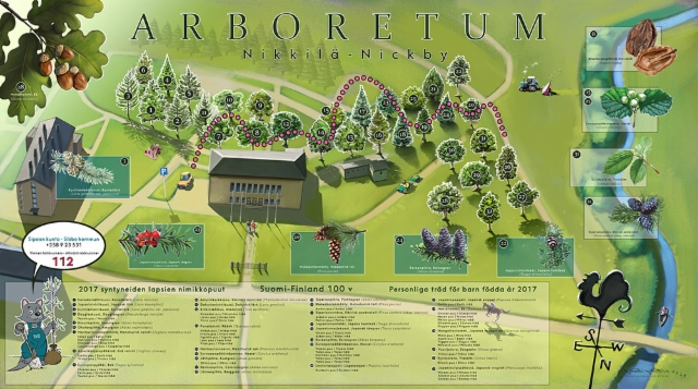 Arboretum, Nikkilä, Sipoo
