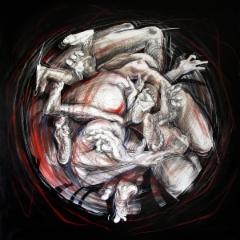 """""""Fêtes Galantes"""", 140x140 cm, 2014"""