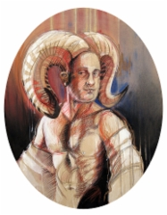 """Lordi Horni"", 120x94 cm, 2014"