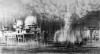 """""""Paluu Valkoiseen kaupunkiin / Return to the White City"""", 140x264cm, 2014"""