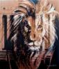 """""""Suomen leijona"""", 111x95 cm, 2009"""