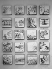 """""""No Tipu-Tipu"""", 30x30cm/osa, 2010"""