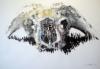 """African buffalo"", 70x100 cm, 2012"
