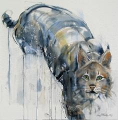 """Yllätys / Surprise"", 73x73cm, 2016"