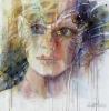 """""""Anastasian kevät"""", 80x80cm, 2017"""