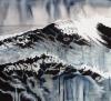 """Tyrsky / Surf"", 70x77cm, 2018"