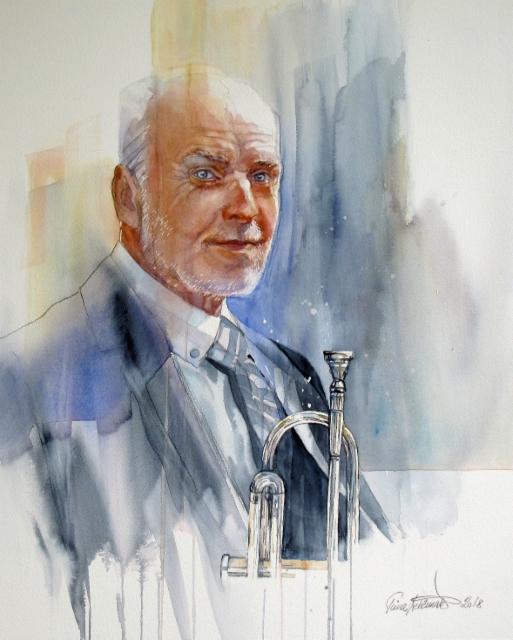 Rolf Nordman muotokuva /Portrait_65x52cm